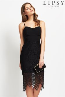 Lipsy Corset Top Lace Skirt Dress