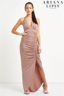 Ariana Grande For Lipsy Halterneck Maxi Dress