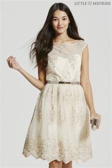 Little Mistress Embroidery Prom Dress