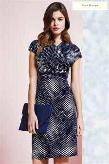 Uttam Boutique Spotty Print Jersey Dress