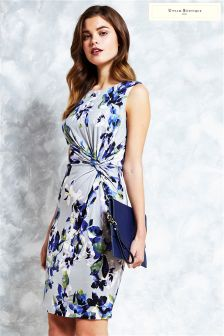 Uttam Boutique Clematis Jersey Knotted Dress