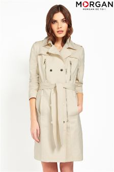 Morgan Belted Trench Coat