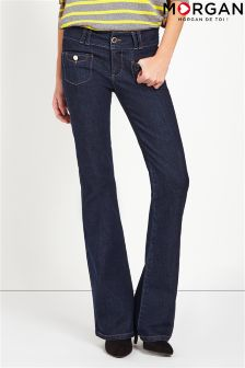 Morgan Denim Flared Jeans