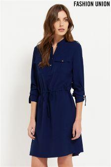 Fashion Union Midi Shirt Dress