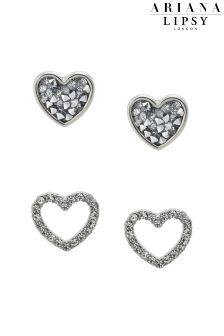 Ariana Grande For Lipsy Heart Duo Earrings