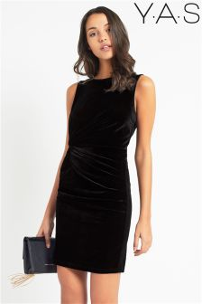 Y.A.S. Velvet Bodycon Dress