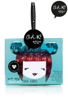 Oh K! Spiral Hair Bands