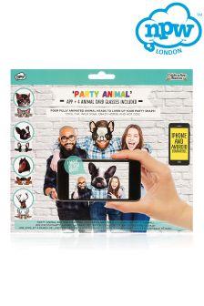 Npw Party Animal Selfie Set