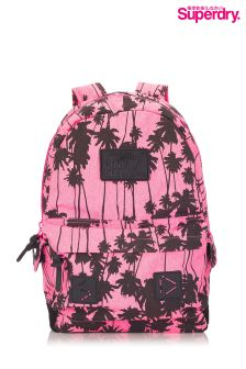 Superdry Palm Print Ruck Sack