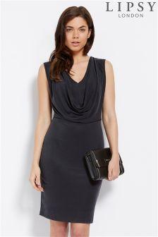Lipsy Cowl Front Dress