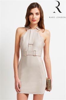Rare Hardware Strap Mini Dress