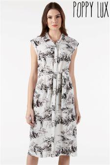 Poppy Lux Midi Shirt Dress