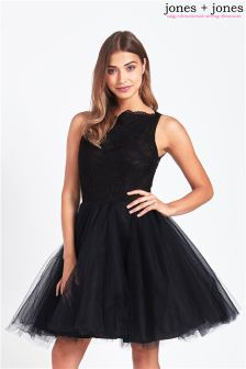 Jones + Jones Lace Prom Dress