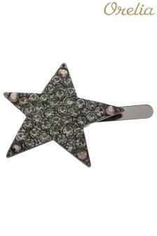 Orelia Sparkle Crystal Star Hair Clip
