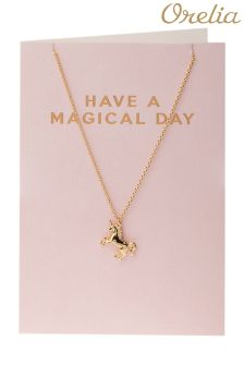 Orelia Have A Magical Day Unicorn Giftcard