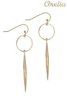 Orelia Spear & Hoop Drop Earring
