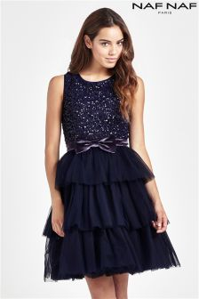 Naf Naf Sequin Dress