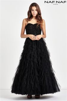 Naf Naf Long Prom Dress