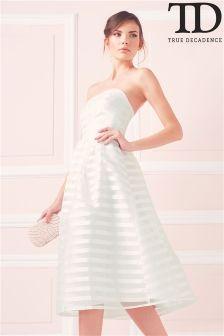 True Decadence Organza Debutante Dress