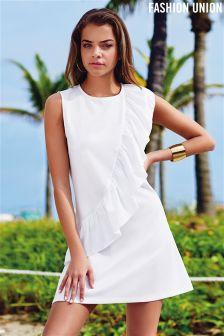 Fashion Union Ruffle Dress