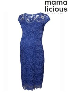 Mamalicious Maternity Cap Lace Dress