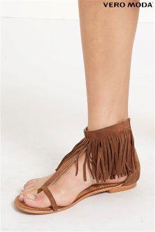 Vero Moda Leather Sandal