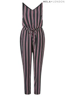 Mela Loves London Multi Striped Jumpsuit