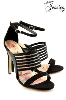 Jessica Wright Multi Strap Heeled Sandals