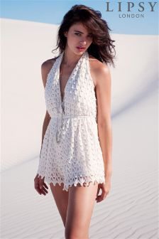 Lipsy Backless Playsuit