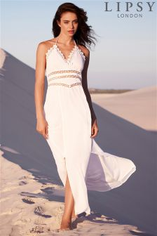 Lipsy Front Split Maxi Dress