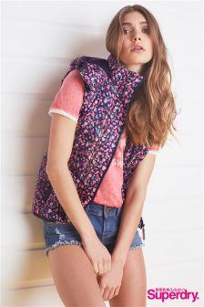 Superdry Fuji Floral Slim Vest