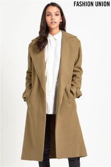 Fashion Union Tailored Trench