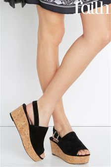 Faith Cork Flatform Sandal