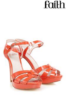 Faith Platform Heeled Sandals