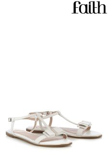 Faith Bow Front Sandals