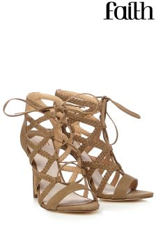 Faith Lace Up Sandals