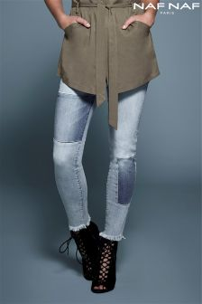 Naf Naf Trendy Patchwork Jeans