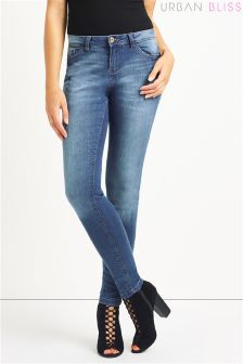 Urban Bliss Vintage Mid Wash Skinny Jean