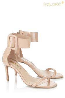 Soloro Buckle Detail Sandals