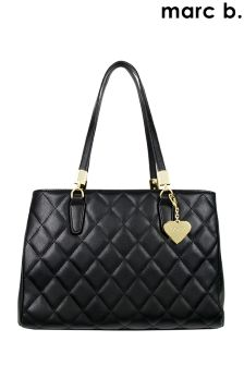 Marc B Quilted Shoulder Bag