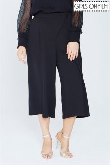 Girls On Film Curve Wrap Front Culottes
