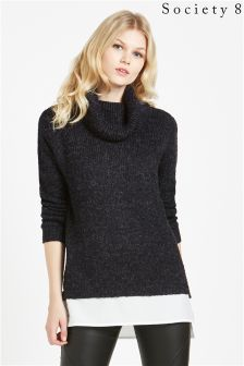 Society 8 High Neck 2 In 1 Jumper