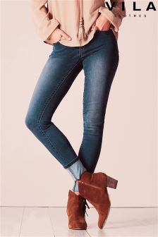 Vila Blue Denim Jeans