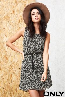 Only Sleeveless Shift Dress