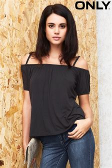 Only Cold Shoulder Bardot Top
