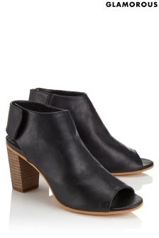 Glamorous Peep Toe Block Heeled Sandals