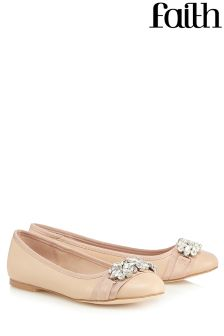 Faith Embellished Ballerina Shoes