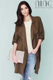 Nine By Savannah Miller  Soft Touch Trench Jacket