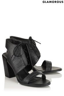 Glamorous Elise Panelled Heel