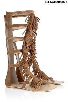 Glamorous High Gladiator Sandal